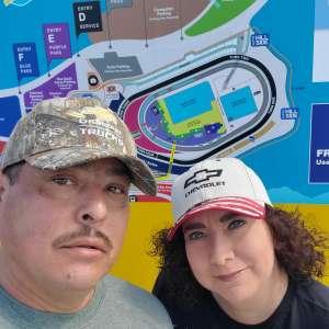 Christopher attended Fanshield 500 - KB100 Kurt Busch Fan Appreciation Tickets - NASCAR Cup Series on Mar 8th 2020 via VetTix