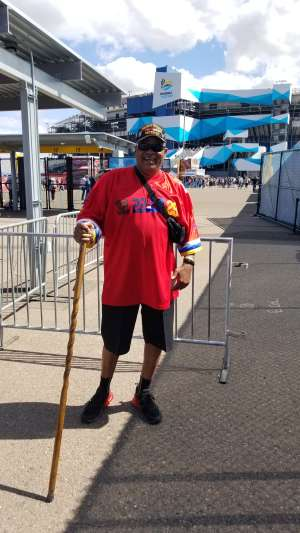 Mark Wright  attended Fanshield 500 - KB100 Kurt Busch Fan Appreciation Tickets - NASCAR Cup Series on Mar 8th 2020 via VetTix