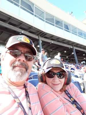 Ron attended Fanshield 500 - KB100 Kurt Busch Fan Appreciation Tickets - NASCAR Cup Series on Mar 8th 2020 via VetTix