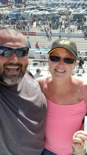 Peter attended Fanshield 500 - KB100 Kurt Busch Fan Appreciation Tickets - NASCAR Cup Series on Mar 8th 2020 via VetTix