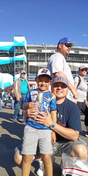 STEVE attended Fanshield 500 - KB100 Kurt Busch Fan Appreciation Tickets - NASCAR Cup Series on Mar 8th 2020 via VetTix