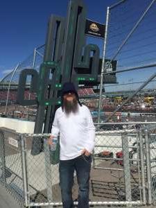 Rob Sims  attended Fanshield 500 - KB100 Kurt Busch Fan Appreciation Tickets - NASCAR Cup Series on Mar 8th 2020 via VetTix