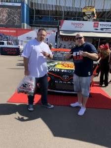 Scott attended Fanshield 500 - KB100 Kurt Busch Fan Appreciation Tickets - NASCAR Cup Series on Mar 8th 2020 via VetTix