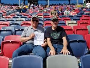 Chuck attended Fanshield 500 - KB100 Kurt Busch Fan Appreciation Tickets - NASCAR Cup Series on Mar 8th 2020 via VetTix