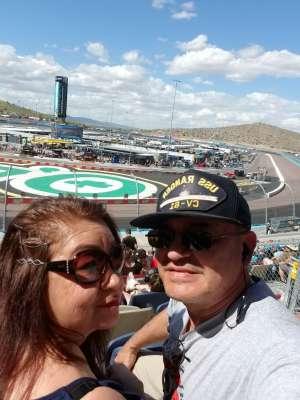 Carlos  attended Fanshield 500 - KB100 Kurt Busch Fan Appreciation Tickets - NASCAR Cup Series on Mar 8th 2020 via VetTix