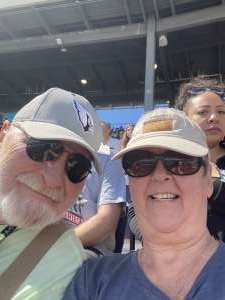 Linda attended Fanshield 500 - KB100 Kurt Busch Fan Appreciation Tickets - NASCAR Cup Series on Mar 8th 2020 via VetTix