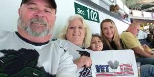 Dave attended Florida Everblades vs. Greenville Swamp Rabbits - ECHL on Mar 7th 2020 via VetTix