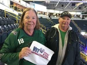 William attended Florida Everblades vs. Greenville Swamp Rabbits - ECHL on Mar 7th 2020 via VetTix