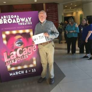 Davis attended LA Cage at Herberger Theater on Mar 7th 2020 via VetTix