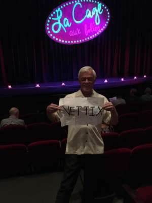 Jerry attended LA Cage at Herberger Theater on Mar 7th 2020 via VetTix