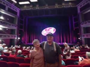 Edward attended LA Cage at Herberger Theater on Mar 7th 2020 via VetTix
