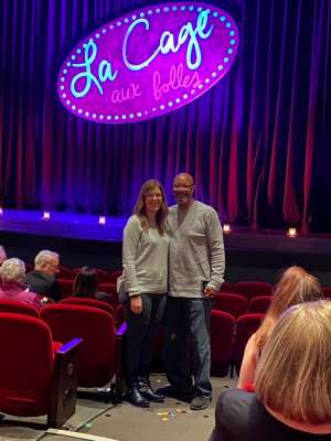 Choice attended LA Cage at Herberger Theater on Mar 13th 2020 via VetTix
