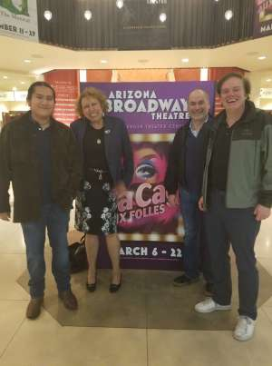 Darrin attended LA Cage at Herberger Theater on Mar 13th 2020 via VetTix