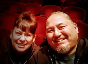 Ed attended LA Cage at Herberger Theater on Mar 13th 2020 via VetTix