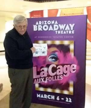 Rich attended LA Cage at Herberger Theater on Mar 13th 2020 via VetTix