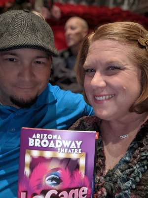 Jason attended LA Cage at Herberger Theater on Mar 13th 2020 via VetTix