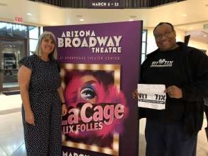 Cliff attended LA Cage at Herberger Theater on Mar 13th 2020 via VetTix