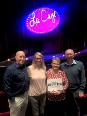 Timothy attended LA Cage at Herberger Theater on Mar 13th 2020 via VetTix