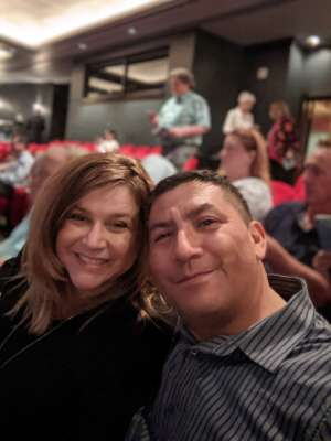 Diego and Kim attended LA Cage at Herberger Theater on Mar 6th 2020 via VetTix