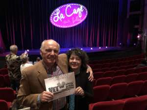 Russell Deojay attended LA Cage at Herberger Theater on Mar 6th 2020 via VetTix
