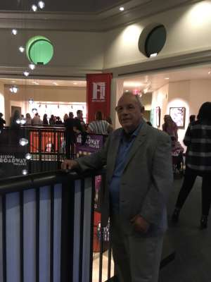 Louis Lopez attended LA Cage at Herberger Theater on Mar 6th 2020 via VetTix