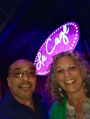 Terri  attended LA Cage at Herberger Theater on Mar 6th 2020 via VetTix