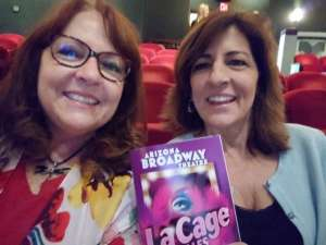 Lauren Hill attended La Cage at Herberger Theater on Mar 15th 2020 via VetTix