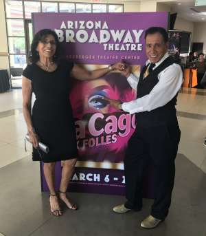 AliciaBella attended La Cage at Herberger Theater on Mar 15th 2020 via VetTix