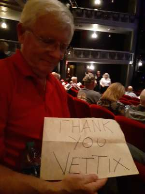 Bob attended La Cage at Herberger Theater on Mar 15th 2020 via VetTix