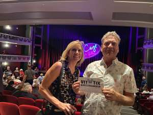 Steve Eckloff attended La Cage at Herberger Theater on Mar 14th 2020 via VetTix