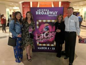 stephen attended La Cage at Herberger Theater on Mar 14th 2020 via VetTix