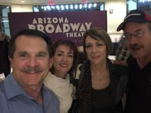 Charlie  attended La Cage at Herberger Theater on Mar 14th 2020 via VetTix