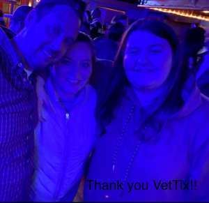 STEPHANIE WILLIAMS attended The Lumineers Iii: the World Tour on Mar 10th 2020 via VetTix
