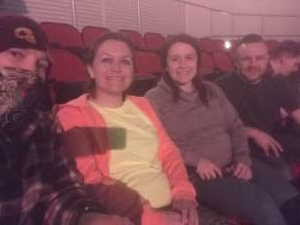 Ant attended The Lumineers Iii: the World Tour on Mar 10th 2020 via VetTix