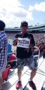 Kevin L Elliott attended Fanshield 500 - NASCAR Cup Series on Mar 8th 2020 via VetTix