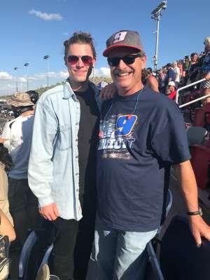 Chief RG attended Fanshield 500 - NASCAR Cup Series on Mar 8th 2020 via VetTix