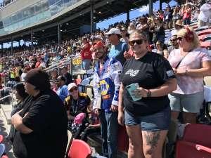 Josh E attended Fanshield 500 - NASCAR Cup Series on Mar 8th 2020 via VetTix