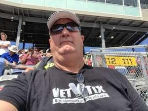 Brad Ament  attended Fanshield 500 - NASCAR Cup Series on Mar 8th 2020 via VetTix