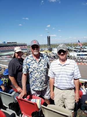 Denny  attended Fanshield 500 - NASCAR Cup Series on Mar 8th 2020 via VetTix
