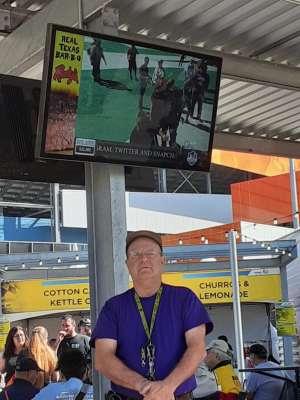 Doug Bruce attended Fanshield 500 - NASCAR Cup Series on Mar 8th 2020 via VetTix