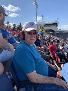 Christi Johnson attended Fanshield 500 - NASCAR Cup Series on Mar 8th 2020 via VetTix