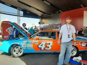 Kyle C. attended Fanshield 500 - NASCAR Cup Series on Mar 8th 2020 via VetTix