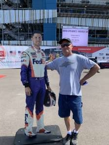 Brent attended Fanshield 500 - NASCAR Cup Series on Mar 8th 2020 via VetTix