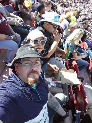Jaime attended Fanshield 500 - NASCAR Cup Series on Mar 8th 2020 via VetTix