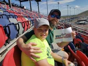 Dennis attended Fanshield 500 - NASCAR Cup Series on Mar 8th 2020 via VetTix
