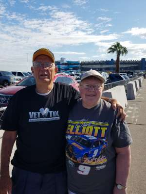 William Pigman attended Fanshield 500 - NASCAR Cup Series on Mar 8th 2020 via VetTix