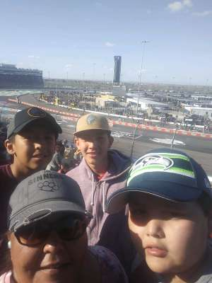 Deannah  attended Fanshield 500 - NASCAR Cup Series on Mar 8th 2020 via VetTix