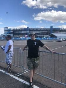 Nate attended Fanshield 500 - NASCAR Cup Series on Mar 8th 2020 via VetTix