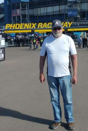 Bob attended Fanshield 500 - NASCAR Cup Series on Mar 8th 2020 via VetTix