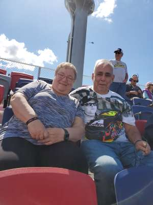 Duane Danner attended Fanshield 500 - NASCAR Cup Series on Mar 8th 2020 via VetTix